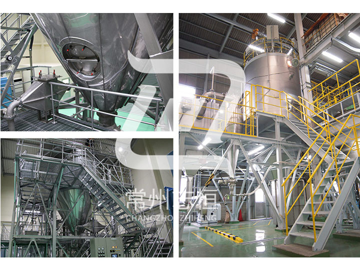 Production of universal centrifugal spray dryer RSD series