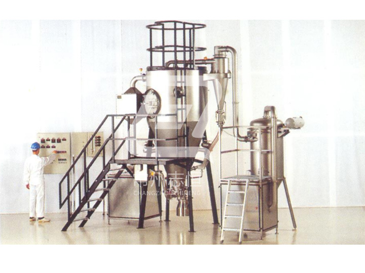Fluidized bed spray dryer FSD series